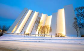Arctic Cathedral, Tromso