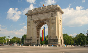 Trimuphal Arch, Bucharest