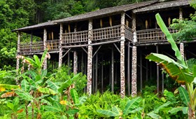 Traditional architecture, Borneo